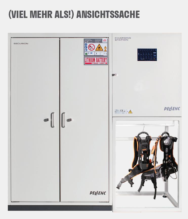 Sicherheitsschrank SECURION von Pellenc